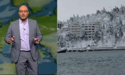 Όλα τα νέα δεδομένα για τα χιόνια από την Πέμπτη. Το δελτίο καιρού του Σάκη Αρναούτογλου (Video)