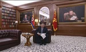 Τηλεοπτικό μήνυμα – γρίφος του Κιμ Γιονγκ Ουν βάζει «φωτιά» στις εικασίες των συνωμοσιολόγων (Vid)