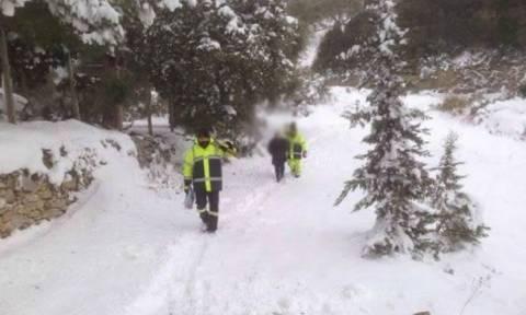 ΣΟΚ στην Ευρυτανία: 55χρονη πέθανε στα χιόνια μετά το πρωτοχρονιάτικο ρεβεγιόν