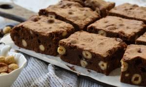 Η συνταγή της ημέρας: Brownies με φουντούκι