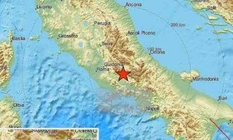 Σεισμός στη Λ' Άκουιλα της Ιταλίας