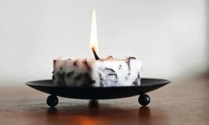 Έβαλαν ηφαιστειακή λάβα μέσα σε κεριά και δείτε τι προέκυψε! (pics)
