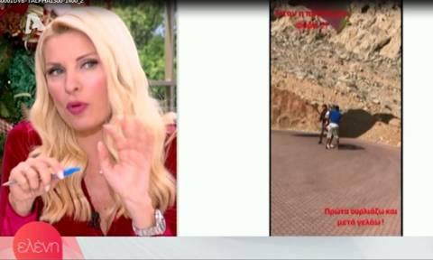 Ελένη: Έτσι ο Μάκης και οι κόρες της την έπεισαν να κάνει ελεύθερη πτώση με αλεξίπτωτο