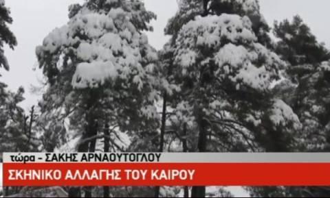 Καιρός: Σε αυτές τις περιοχές θα χιονίσει απόψε το βράδυ! Η ανάλυση του Σάκη Αρναούτογλου (video)