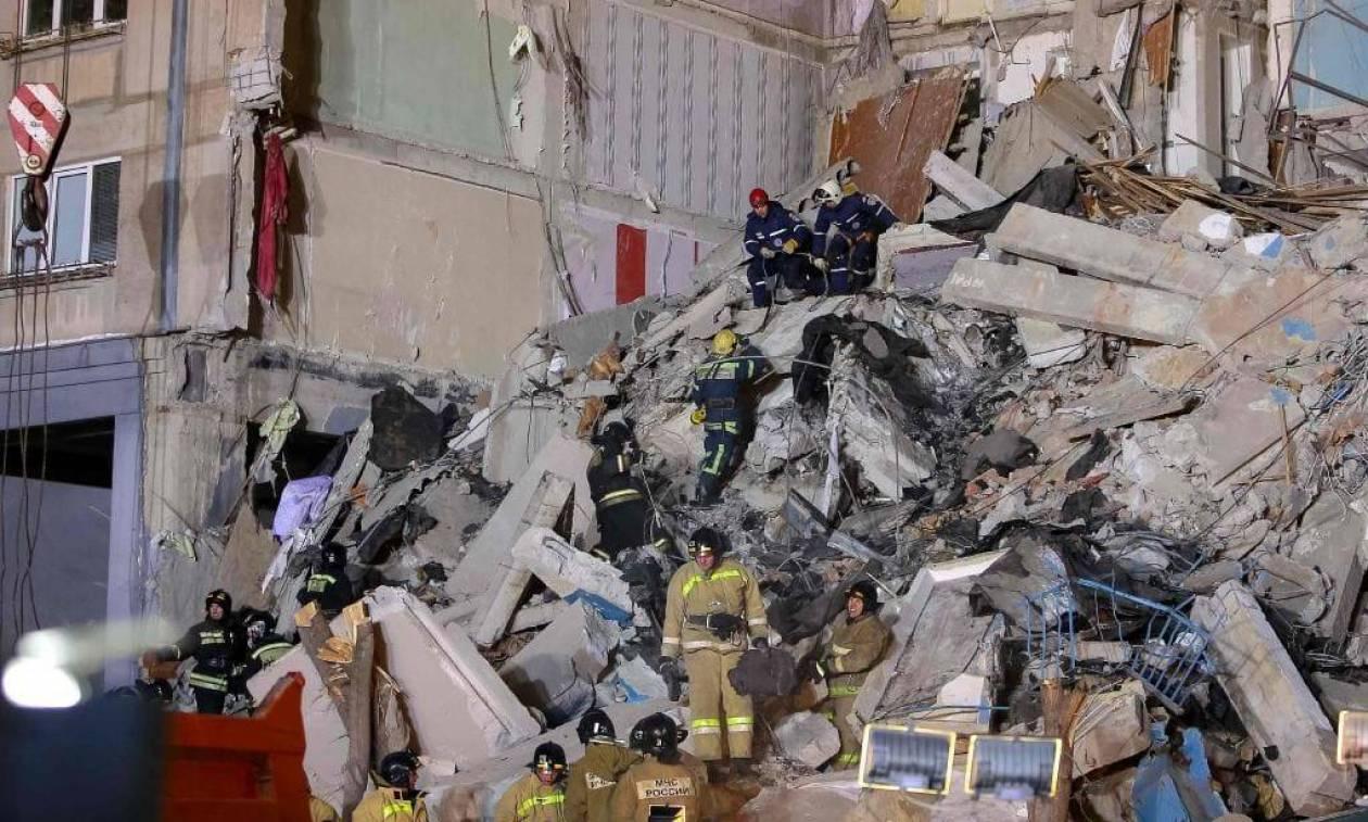 Έκρηξη Ρωσία: Αγωνία στα χαλάσματα για δεκάδες αγνοουμένους - Στους 24 οι νεκροί (Vid)