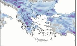 Καιρός: Έρχεται δριμύ ψύχος. Ο χάρτης χιονοκάλυψης ολόκληρης της Ελλάδας (Video)