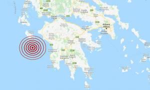 Σεισμός: Νέος μετασεισμός κοντά στη Ζάκυνθο (pic)