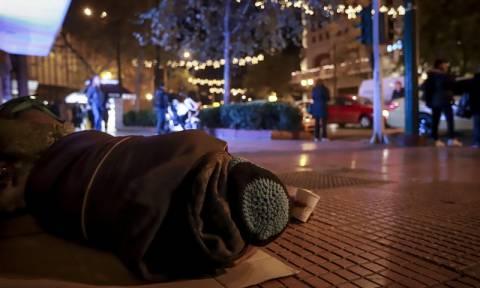 Κακοκαιρία: Θερμαινόμενος χώρος στην Αθήνα για την προστασία των αστέγων από το πολικό ψύχος