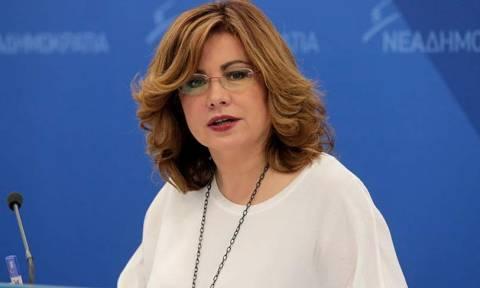 Μαρία Σπυράκη: «Στήνουν παρακράτος με τη Novartis»