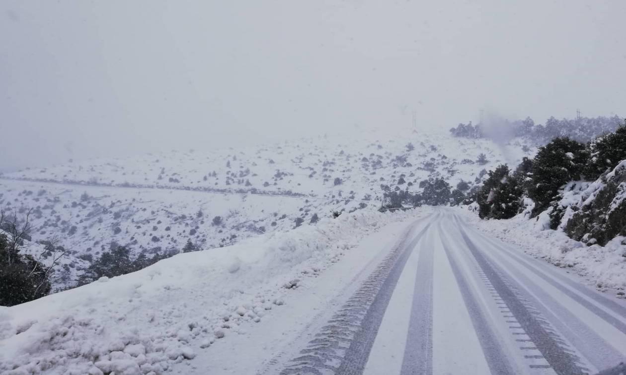 Καιρός Live: Σοβαρά προβλήματα από τα χιόνια - Κλειστοί δρόμοι και ακυρώσεις πτήσεων (pics&vids)