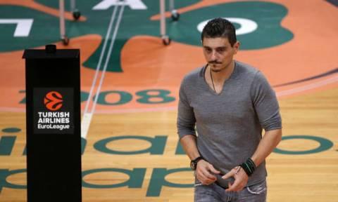 Στο ΟΑΚΑ πριν από το Ολυμπιακός - Παναθηναϊκός ο Δημήτρης Γιαννακόπουλος
