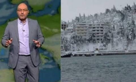 Πού θα χιονίσει: Έκτακτη προειδοποίηση Αρναούτογλου για Θεσσαλονίκη, Μακεδονία και Θεσσαλία (video)