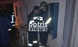 Τραγωδία στην Ηλεία: Κάηκε σπίτι στα Ζαχαρέικα - Νεκρή μία ηλικιωμένη (pics)