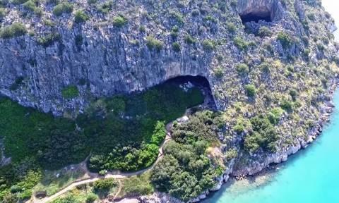 Το εντυπωσιακό Σπήλαιο Φράγχθι της Αργολίδας (vid)