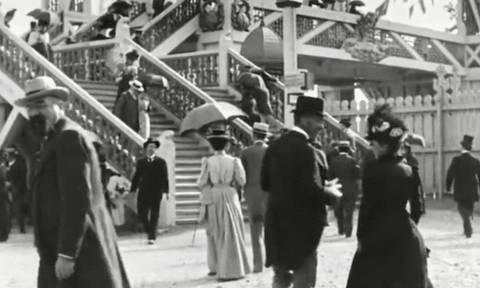 Συγκλονιστικό βίντεο από το Παρίσι του 1895!