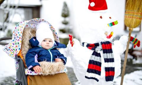 Πώς να προστατεύσετε το μωρό σας από το κρύο του χειμώνα