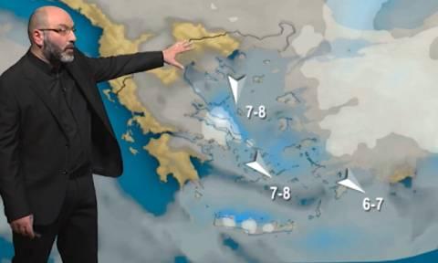 Έρχεται νέο χιονοχαμηλό τη Δευτέρα με επίκεντρο Αττική, Εύβοια. Η ανάλυση του Σάκη Αρναούτογλου...