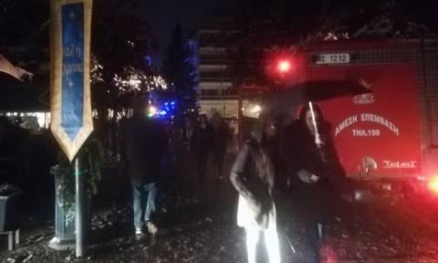 Καιρός: Διακοπή ρεύματος στο κέντρο του Αγρινίου - Εγκλωβισμοί σε ασανσέρ (pics)