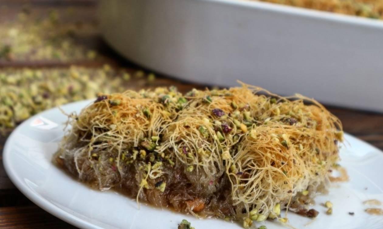 Η συνταγή της ημέρας: Το απόλυτο κανταΐφι