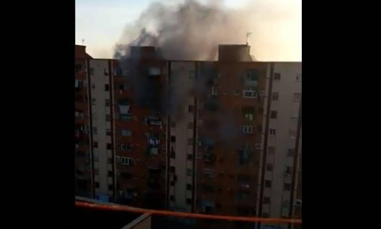 Τραγωδία στην Ισπανία: Τρεις νεκροί και 13 τραυματίες από φωτιά σε πολυκατοικία (vid)