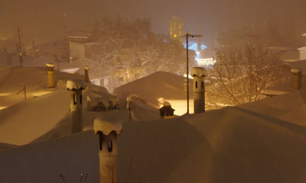 Κακοκαιρία: Σοβαρά προβλήματα ηλεκτροδότησης στην Κασσάνδρα Χαλκιδικής