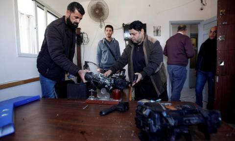 Γάζα: Πέντε συλλήψεις για την επίθεση στις εγκαταστάσεις του ραδιοτηλεοπτικού δικτύου της Χαμάς