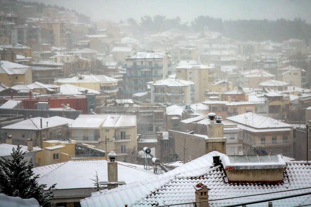 Στην... κατάψυξη η βόρεια Ελλάδα - Πού έδειξε το θερμόμετρο -19 βαθμούς - Έρχεται νέος χιονιάς