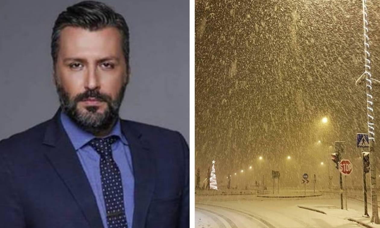 Καιρός – Καλλιάνος: Η ώρα του χιονιά για την Αθήνα – Πού και πότε θα το στρώσει
