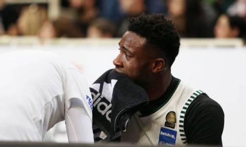 Τραυματίστηκε ο Θανάσης Αντετοκούνμπο στο ματς Παναθηναϊκός ΟΠΑΠ – Χολαργός