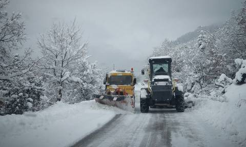 Καιρός: Προ των πυλών ο «Τηλέμαχος»: Χιόνια στο κέντρο της Αθήνας, παγετός και θερμοκρασίες Σιβηρίας