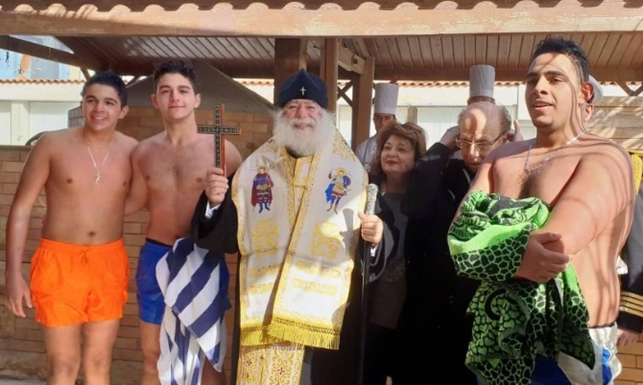 Πατριάρχης Θεόδωρος: Η Μεσόγειος, από σήμερα με τα Φώτα, θάλασσα φιλίας, ειρήνης και αγάπης (vid)