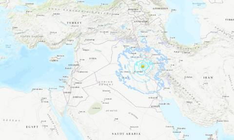 Δεκάδες τραυματίες από το σεισμό των 5,5 Ρίχτερ στα σύνορα Ιράν - Ιράκ