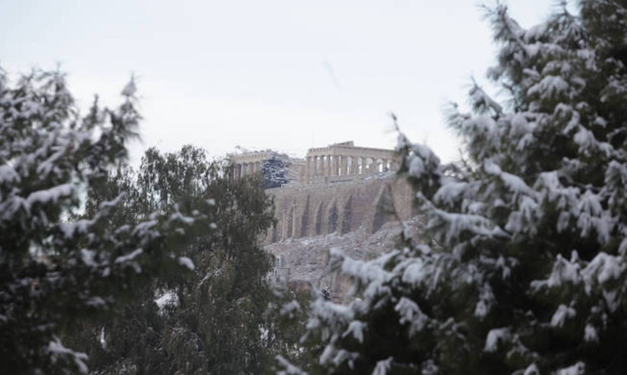 New weather system to bring snow and low temperatures in Greece as of Monday