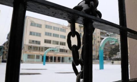 Κακοκαιρία «Τηλέμαχος»: Κλειστά σχολεία την Τρίτη (08/01)