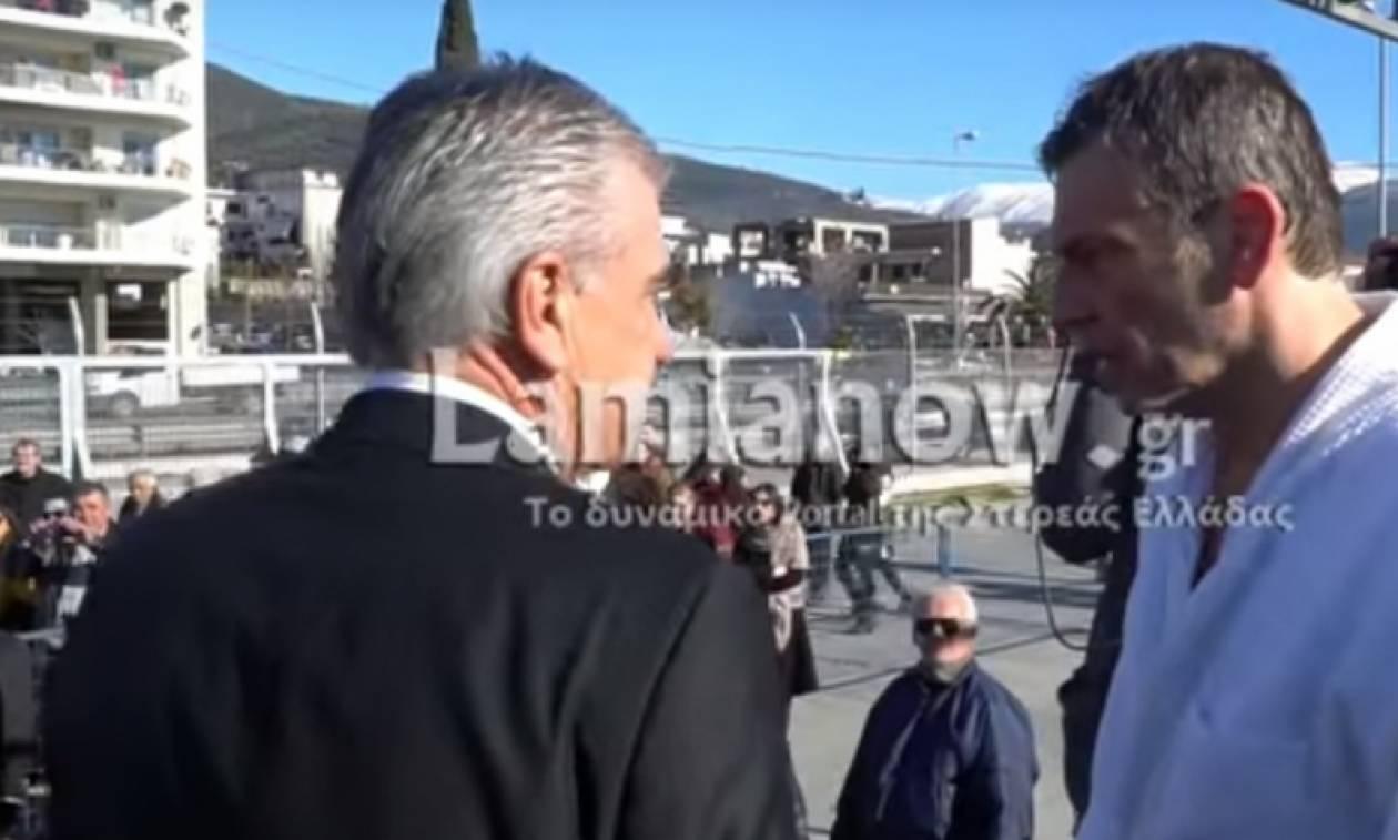 Γκλέτσος: «Σ' αυτή τη χώρα, πρέπει να πέσει καμιά σφαλιάρα» (vid)