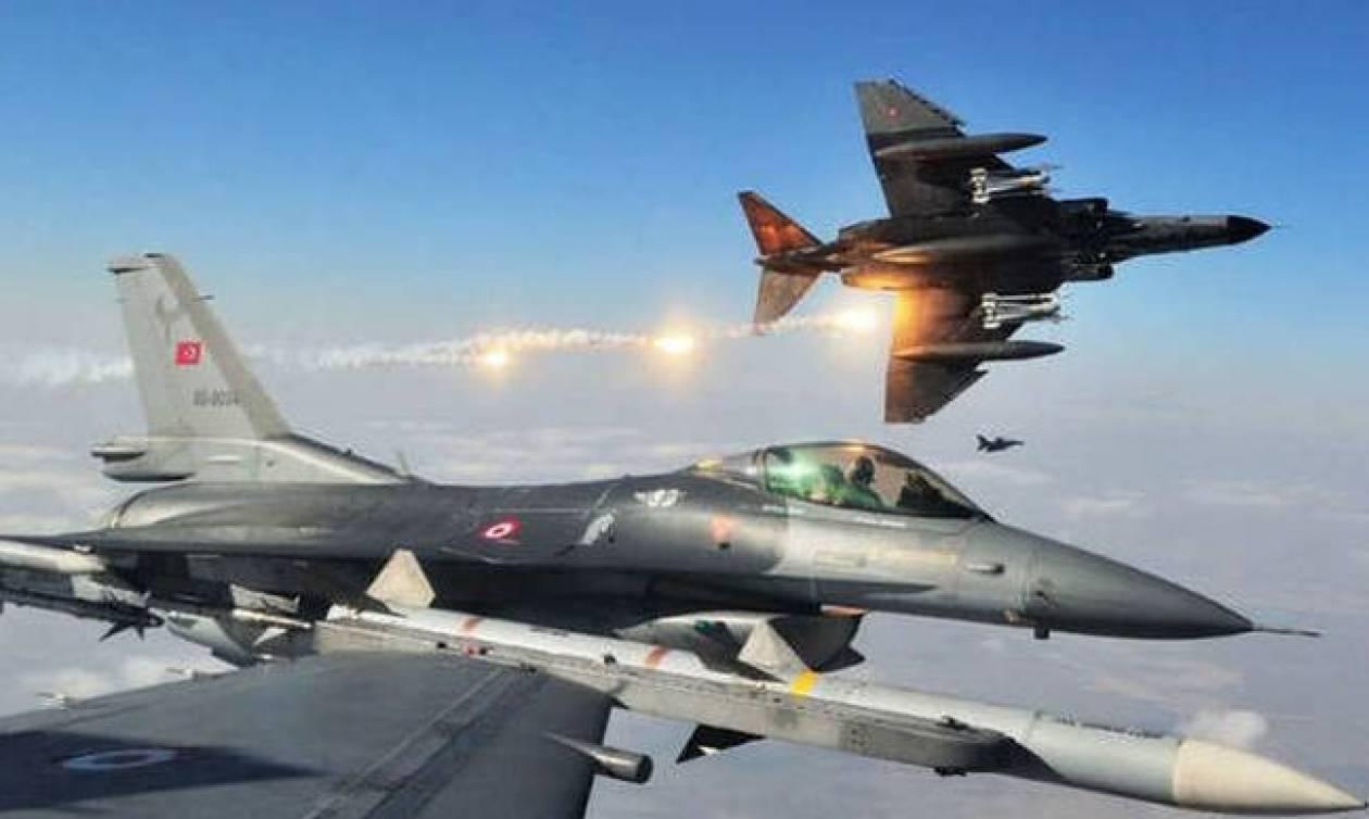 Εκτός ελέγχου ο Ερντογάν: Τουρκικά μαχητικά εισέβαλαν στο Ιράκ και βομβάρδισαν τους Κούρδους