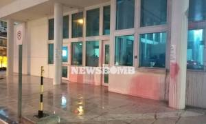 Βίντεο ντοκουμέντο από την επίθεση του «Ρουβίκωνα» στην πρεσβεία των ΗΠΑ