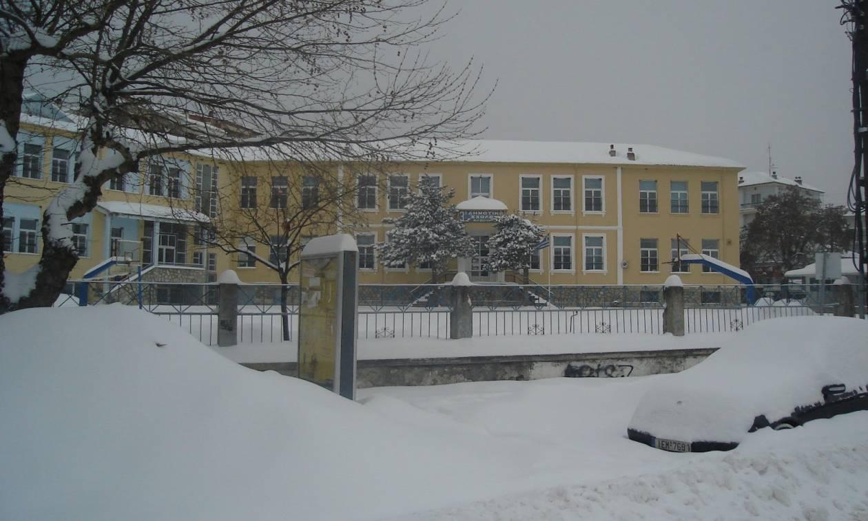 Κλειστά σχολεία αύριο,Τρίτη (08/01) λόγω κακοκαιρίας