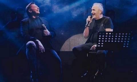 Η Νατάσα Θεοδωρίδου διασκέδασε με τους Γονίδη - Μακρόπουλο στο Frangelico (videos)