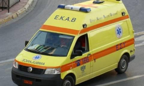 Αγρίνιο: Τροχαίο ατύχημα με σοβαρό τραυματισμό (pics)