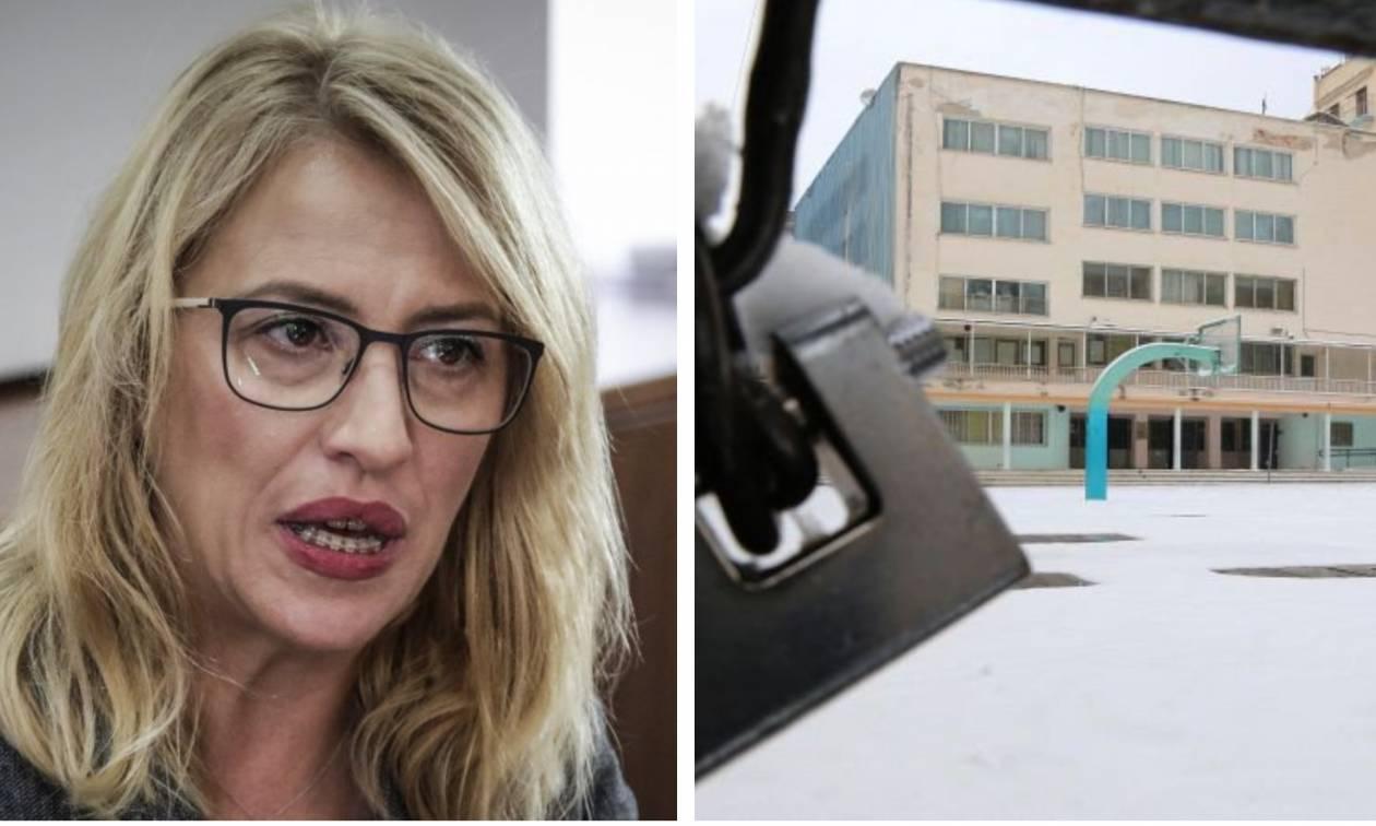 Κλειστά σχολεία αύριο Τρίτη (08/01): Τι λέει η Ρένα Δούρου στο Newsbomb.gr