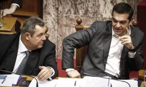 Οι έντονοι διάλογοι Τσίπρα - Καμμένου και το ραντεβού για απόγευμα της Τρίτης (08/01)