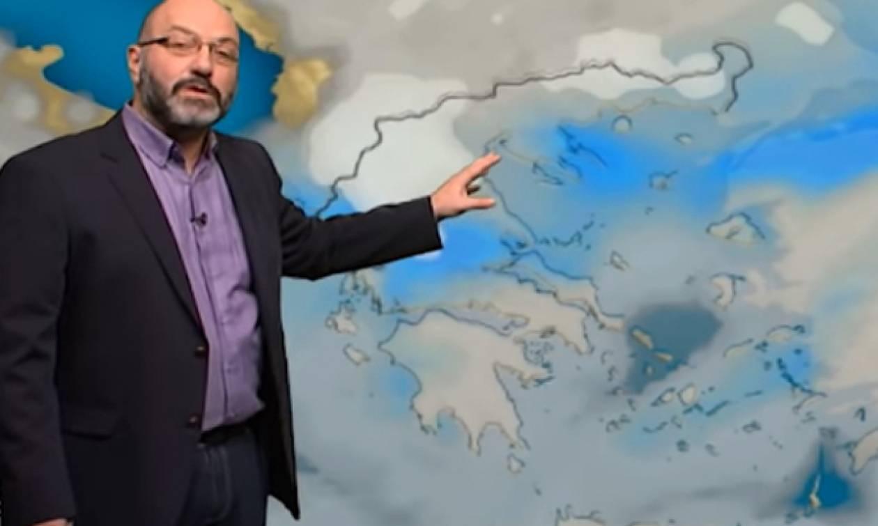 Η εξέλιξη των χιονοπτώσεων μέχρι την Τρίτη και το νέο κύμα από Τετάρτη. Η ανάλυση του Αρναούτογλου