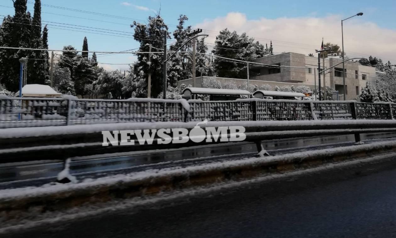 Κράτος... οπερέτα - Έκλεισε η Αθηνών Λαμίας με ένα πόντο χιόνι