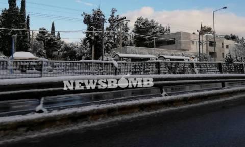 Грецию завалило снегом
