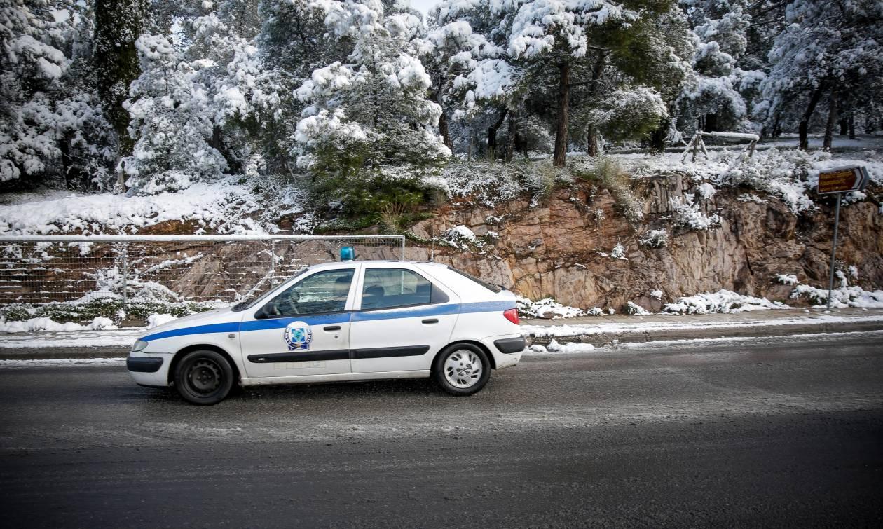 Κακοκαιρία: Άνοιξε η Αθηνών - Λαμίας - Πώς διεξάγεται η κυκλοφορία (vids)