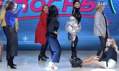 My Style Rocks: Άρχισαν το χορό και η Σπυροπούλου έπεσε στα πατώματα από την κούραση