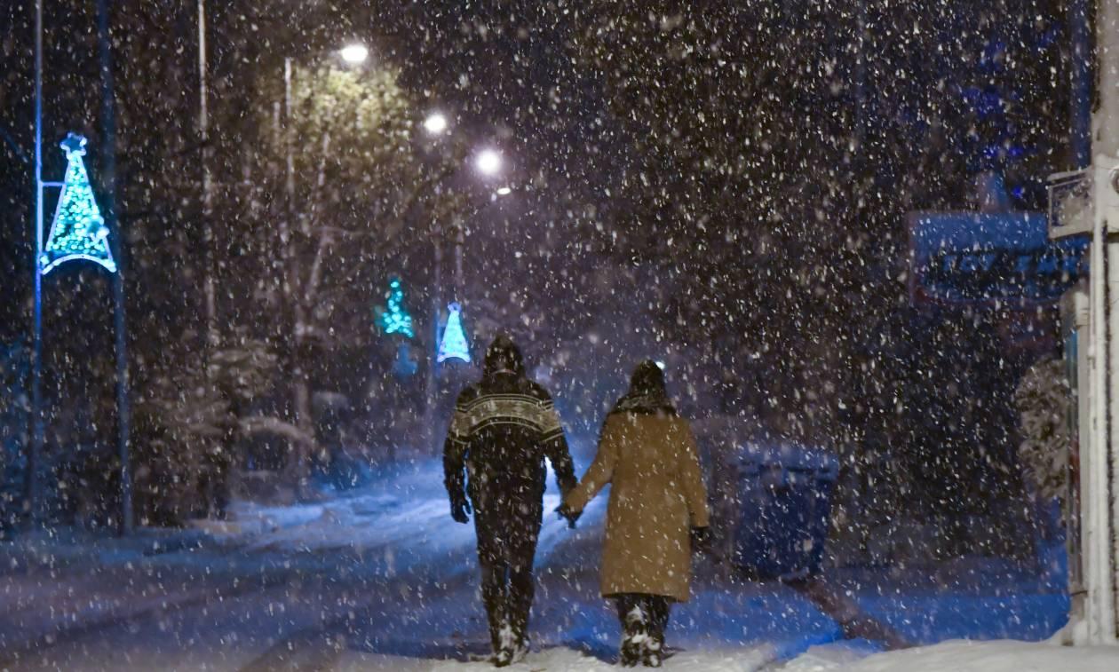 cc642949438b Κακοκαιρία  Η «Υπατία» χτυπά από ώρα σε ώρα τη χώρα - Χιόνια ...