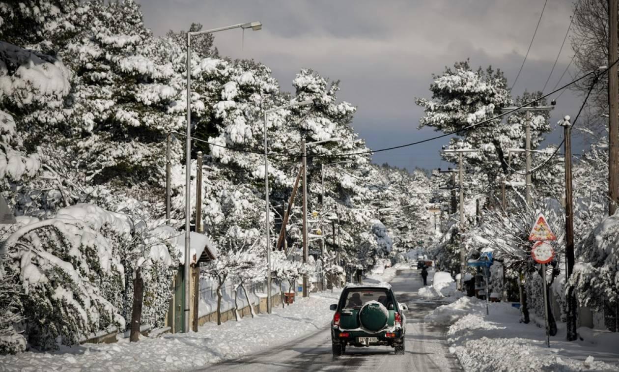 Ο καιρός την Τετάρτη - Χιόνια, βροχές και καταιγίδες - Πού θα είναι έντονα τα φαινόμενα