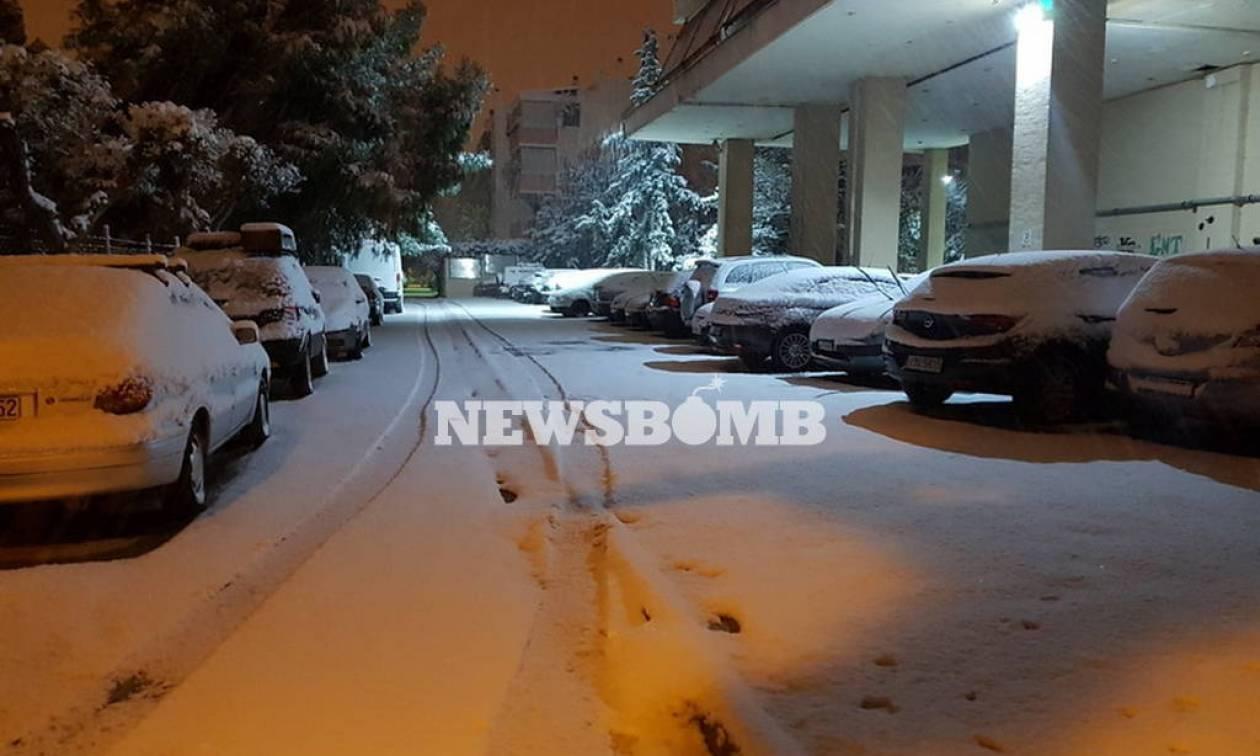 Καιρός - Έκτακτο δελτίο ΕΜΥ: Έρχεται η «Υπατία» με χιόνια, καταιγίδες και 9 μποφόρ (pics)